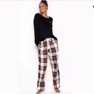 Victoria's Secret Fannel Sleep Pants L